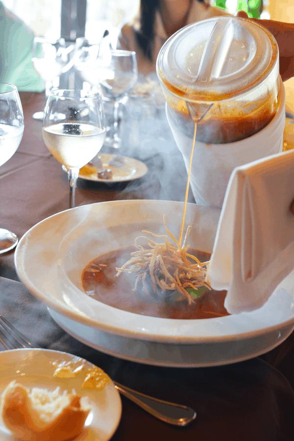 Delicious tortilla soup at Danzante Restaurant at Villa del Palmar Loreto. #VDPLFam #villadelpalmarl // www.cupcakesandcutlery.com