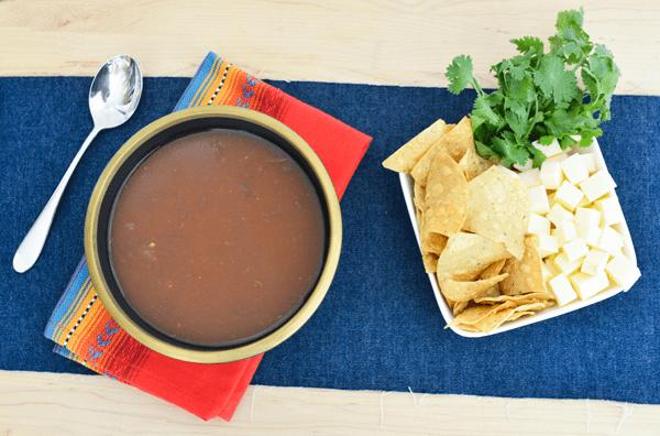 Pour and Stir Tortilla Soup Recipe