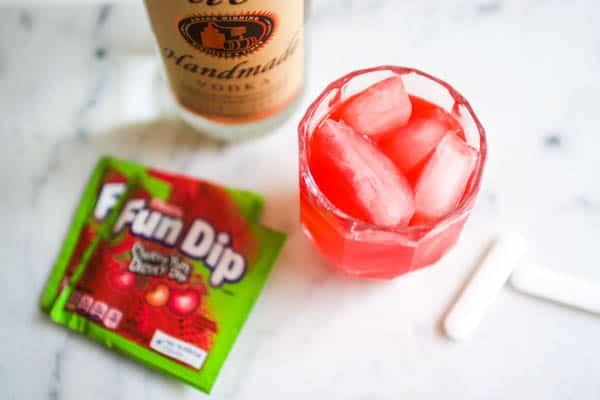 delicious fun dip mixed drink