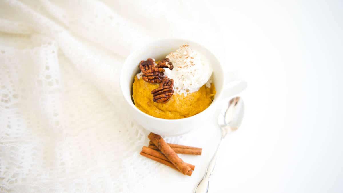 Best Pumpkin Cake Recipe [in the Microwave]